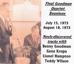 Final Goodman Quartet Reunions