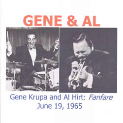 Gene Krupa and Al Hirt: June 19, 1965