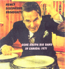 Gene Krupa Big Band in Canada, 1971
