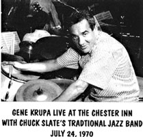 Live at the Chester Inn with Chuck Slate's Traditional Jazz Band:1970