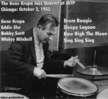 The Gene Krupa Jazz Quartet at JATP