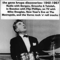 The Gene Krupa Discoveries: 1942-1967