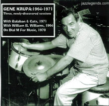 Gene Krupa: 1964-1971 - DIGITAL DOWNLOAD