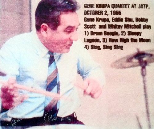 Gene Krupa Quartet at JATP - DIGITAL DOWNLOAD
