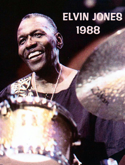ELVIN JONES:A LOVE SUPREME,JAPAN,1988