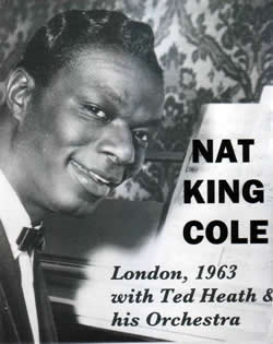 Nat King Cole in London 1963