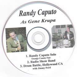 Randy Caputo as Gene Krupa