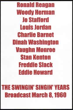 The Swingin' Singin' Years