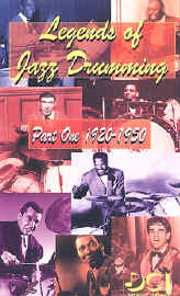 Legends of Jazz Drumming Vol.1 (1920-1950)