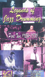 Legends of Jazz Drumming Vol.2 (1950-1970)