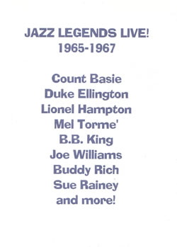 JAZZ LEGENDS LIVE! 1965-1967