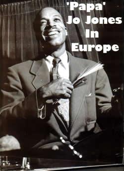 Papa Jo Jones in Europe
