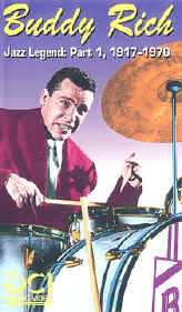 Buddy Rich: Jazz Legend Vol. 1 (1917-1970)